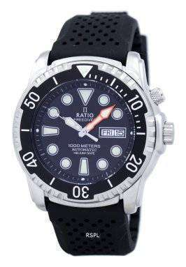 Ratio II Free Diver Helium-Safe 1000M Automatic 1068HA90-34VA-00 Men's Watch