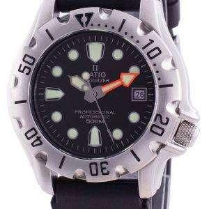 Ratio FreeDiver Professional 500M Sapphire Automatic 32BJ202A-BLK Mens Watch