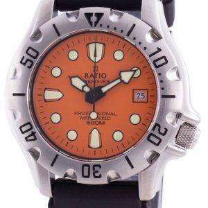 Ratio FreeDiver Professional 500M Sapphire Automatic 32BJ202A-ORG Mens Watch