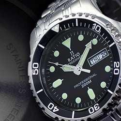 Ratio 200m Diver's